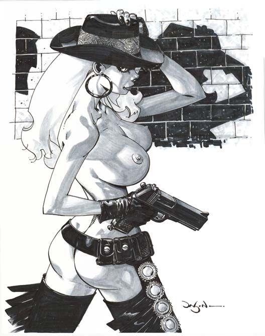 Nancy Callahan - Sin City - Jason Pearson