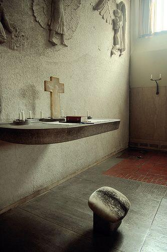 Skogskyrkogården:斯德哥尔摩林地公墓特隆礼拜堂:Faith Chapel Gunnar Asplund,1940