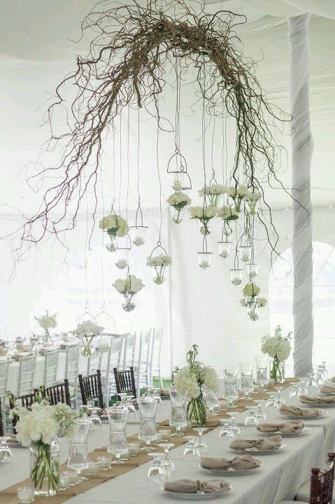 20 of the most beautiful reception lighting ideas