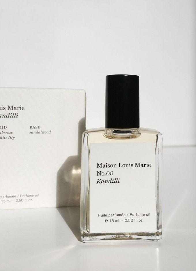 Maison Louis Marie 'Kandilli' perfumed oil packaging