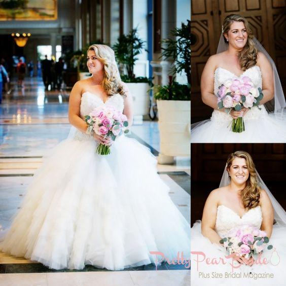 {Real Plus Size Wedding}腮红和象牙圣地亚哥婚礼|蒂姆奥托摄影当你看到你真正的灵魂伴侣走进一个房间时,没有什么能比得上你的感觉......