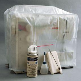 大多数缝纫机问题可以追溯到一般维护不善或疏忽。了解如何使用一些简单的耗材和一台机器将机器保持在顶部状态