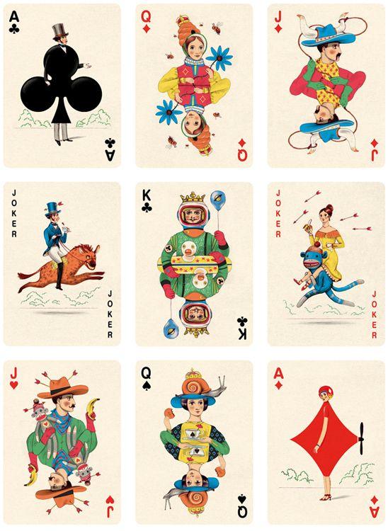 扑克牌。插图画家乔纳森伯顿创作了这套扑克牌,并为Folio Society提供了特别插图。艺术总监