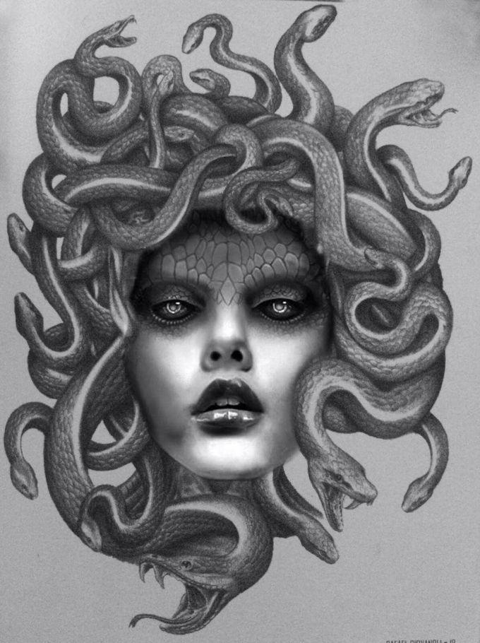 Medusa tattoo - MAR