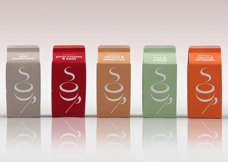 Soup packaging by Paul Currah