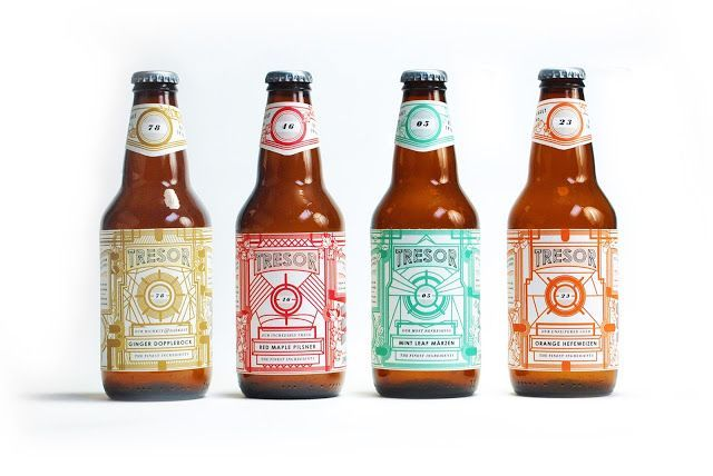 Tresor Brewery on Packaging of the World - Creative Package Design Gallery