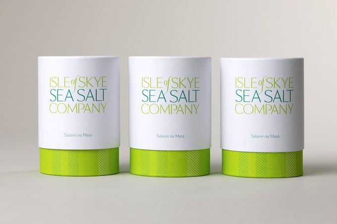 Isle of Skye salt packaging
