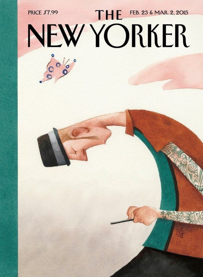 The New Yorker cover