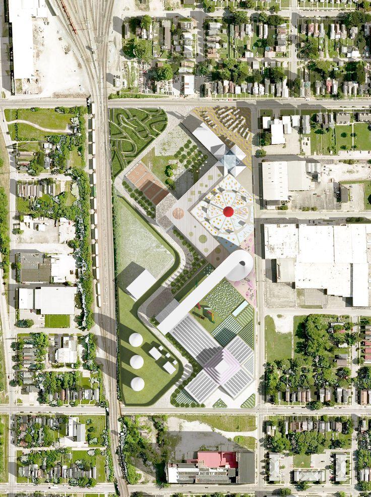 OMA画廊设计西路易斯维尔的食物港 -  2