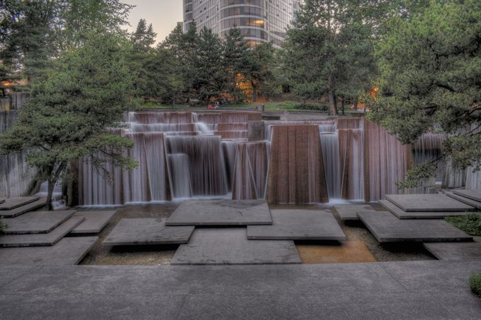 Keller Fountain, Portland, by the late, great Lawrence Halprin.