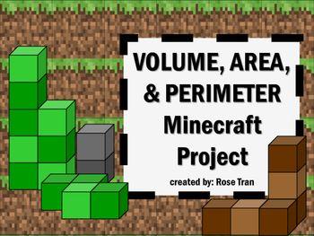 你的学生喜欢Minecraft吗?您是否想过将Minecraft,Volume,Area和Perimeter纳入数学课程的方法?不要再犹豫了,因为您已经找到了一个有趣的基于项目的学习活动,您的学生会对此感兴趣!