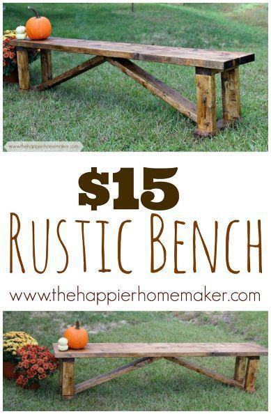 用这些后院的DIY项目在预算中整理你的院子!从DIY桌子到DIY家具。看看这个清单让你保持预算!