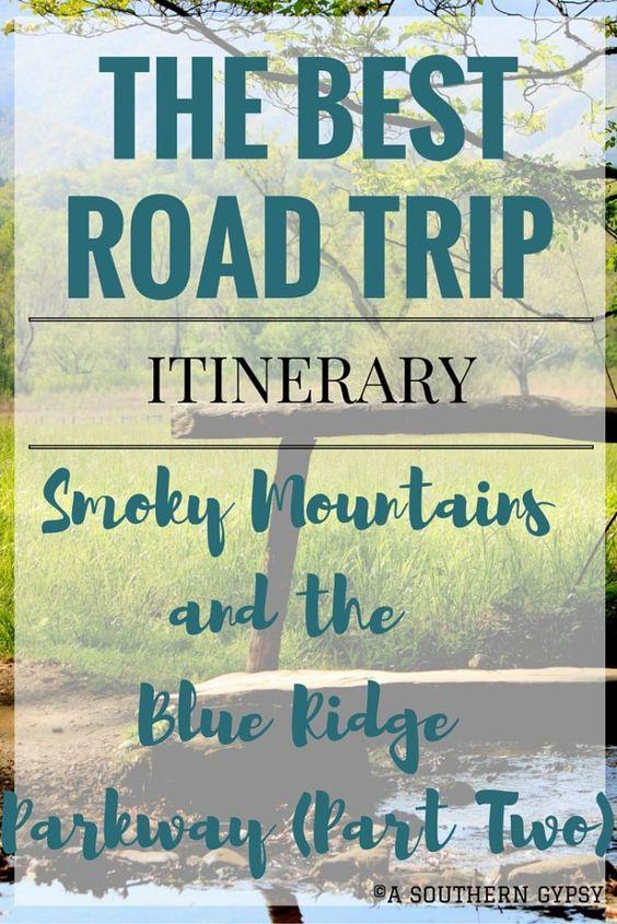从大烟山到Blue Ridge大道的公路之旅|第二部分