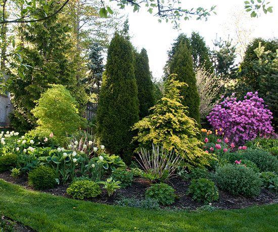通过这些小花园,小院子和小后院景观设计,最大限度地发挥小院子的影响力。
