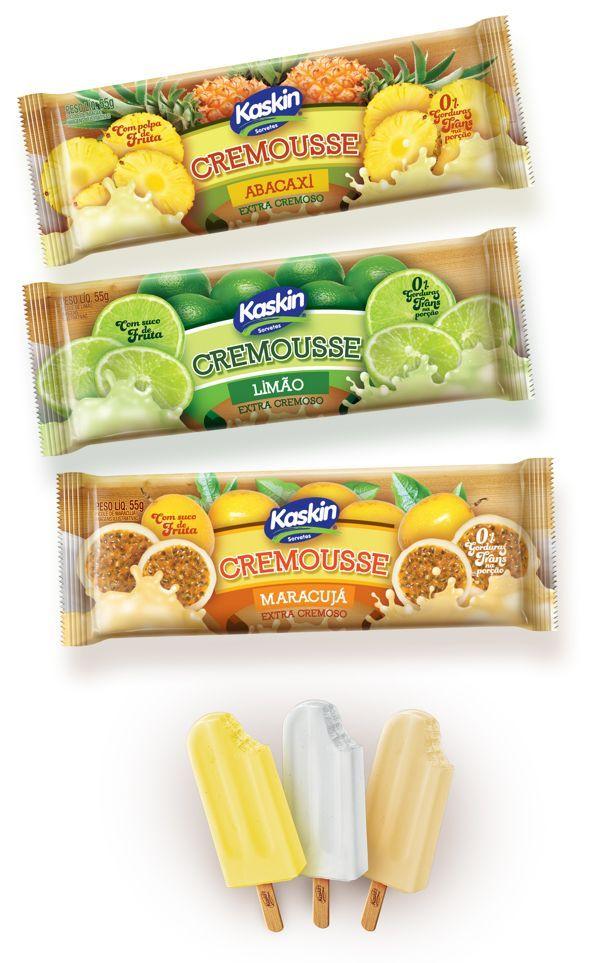 Cremousse Ice Cream on Behance