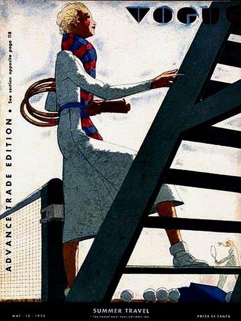 Vogue:Vogue的复古封面