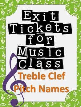 退出门票音乐课形成性评估 -  TREBLE CLEF PITCHES音乐课形成性评估从未如此简单!退出门票或退出通行证是衡量学生理解能力的好方法,以便您的计划时间更加有效,而且您的计划时间更有效