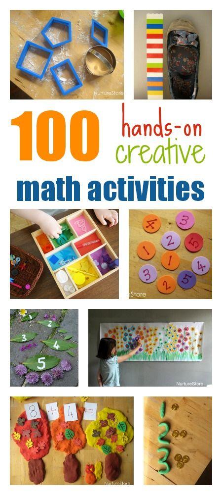 100个创意数学活动,适合所有年龄段,按主题和主题组织。