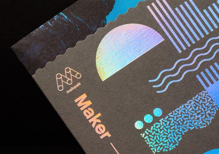 Mohawk Maker Quarterly: Editorial Design by Brett Newman | Inspiration Grid | Design Inspiration #graphicdesign #design #editorialdesign #print #printdesign #inspirationgrid