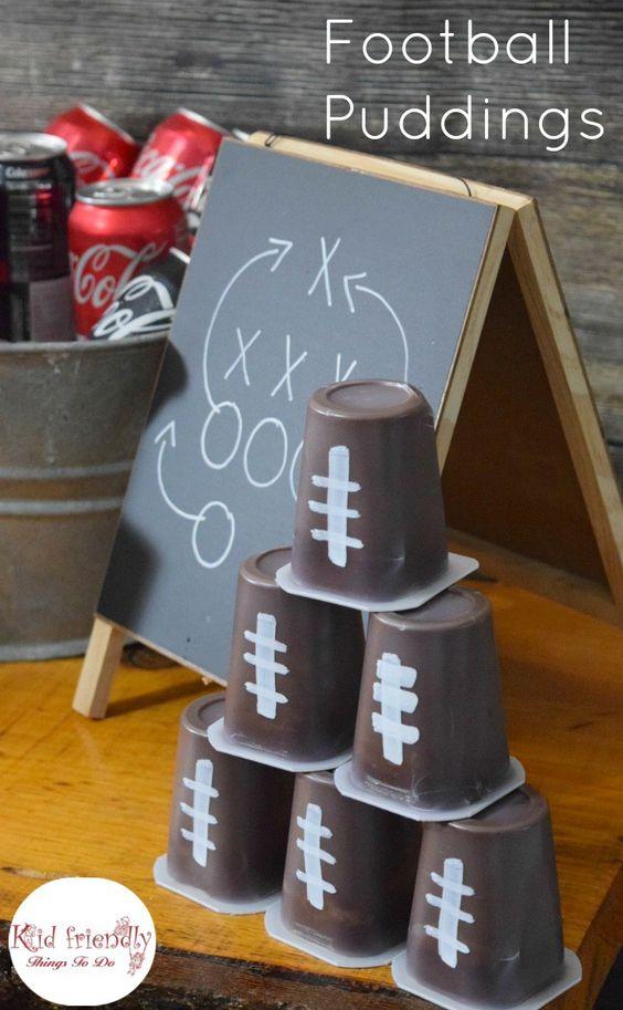 足球观看派对的想法,足球主题饮料舒适的工艺及更多 - 游戏,食物等等!在这篇文章中有趣的想法! -  www.kidfriendlythingstodo.com