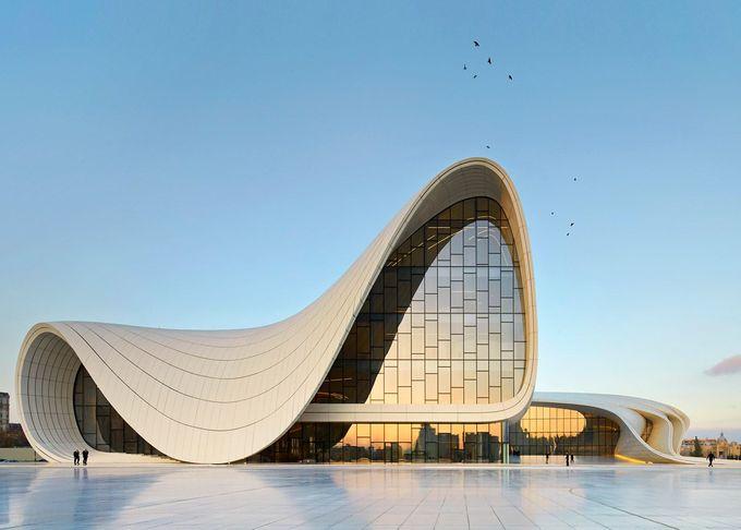 Heydar Aliyev Center, Baku, Azerbaijan, 2012