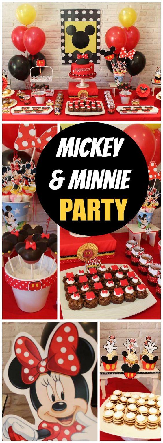 Violeta Glace的生日/米老鼠/米妮 - 米兰和米老鼠派对在Catch My Party举行