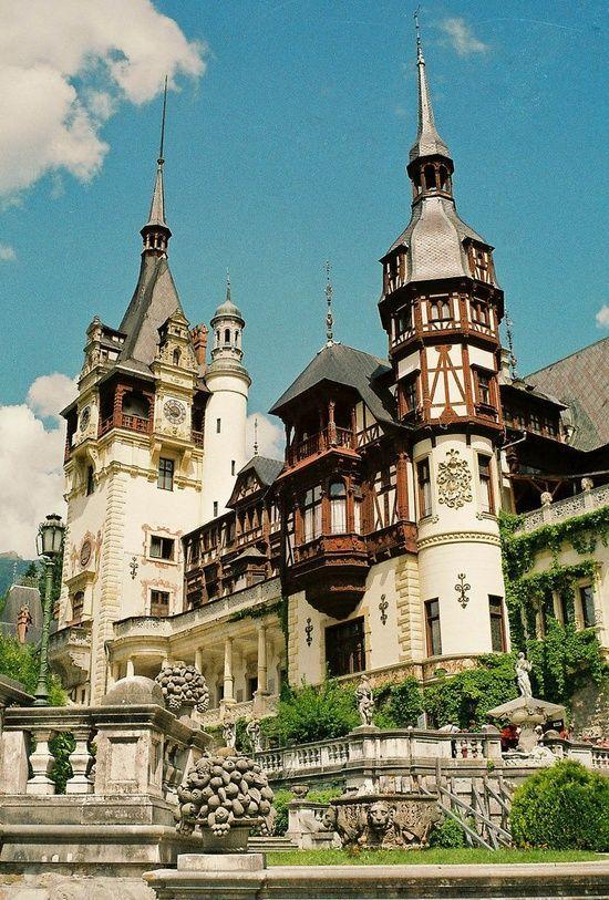 PINTEREST.COM.-CASTLES IF ROMANIA | European Architecture / Peles Castle, Romania – Cradle of a Dynasty