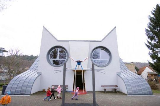 kindergarten designed by Tomi Ungerer