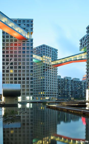 Linked Hybrid, Beijing STEVEN HOLL ARCHITECTS