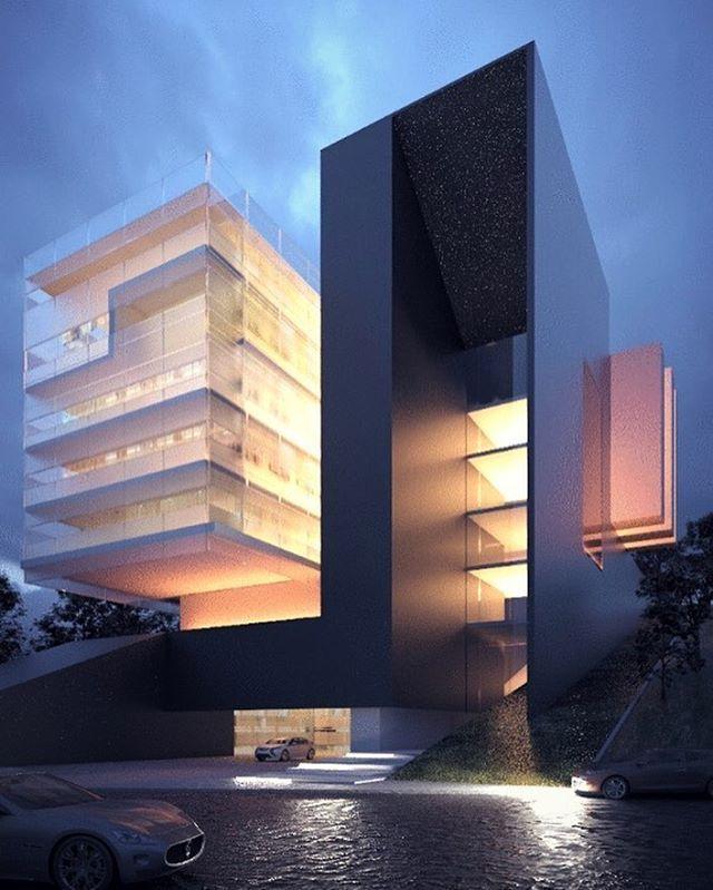 #architecture_hunter法国Luxo Tower,作者:Creato Arquitectos @creatoarquitectos
