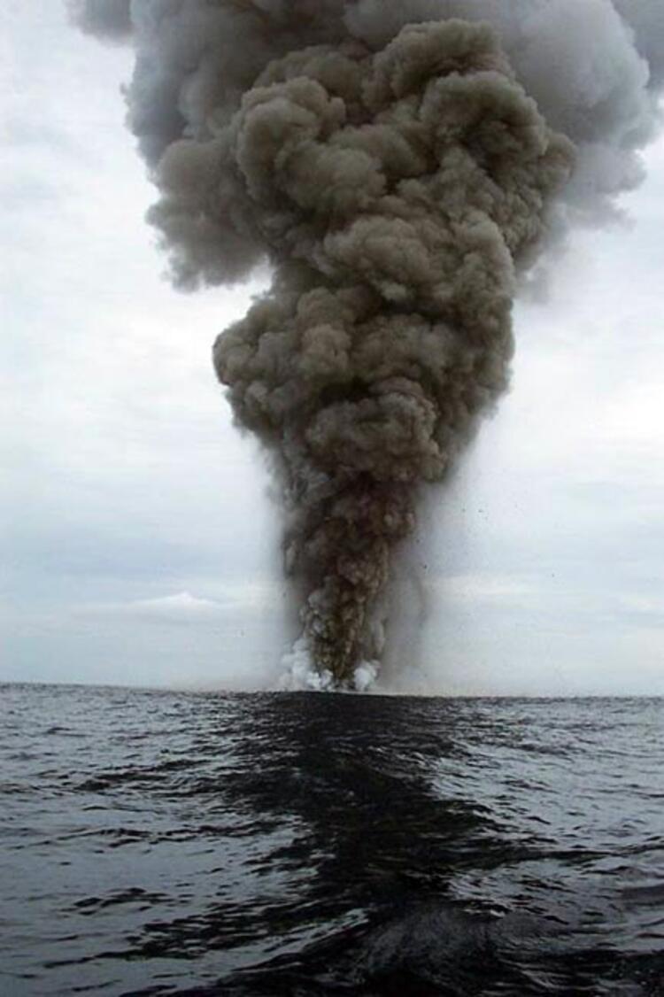 smoke at sea