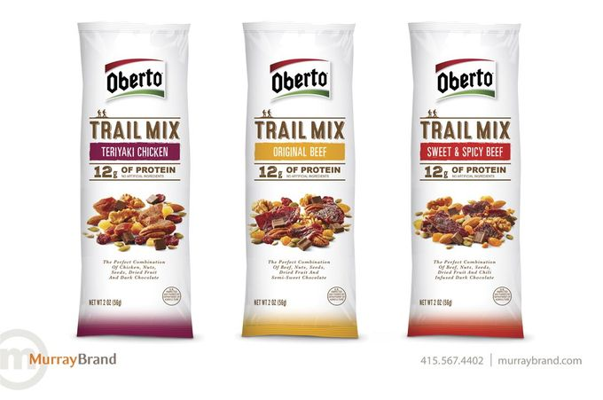 Oberto Trail Mix on Packaging of the World - Creative Package Design Gallery
