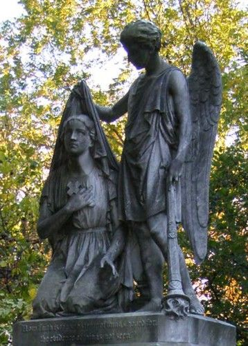 Mount Auburn公墓剑桥,马萨诸塞州