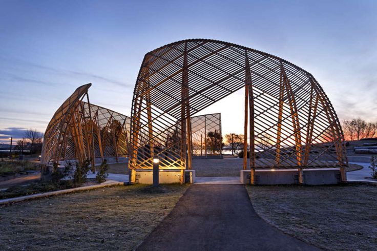 The Gathering Circle is an open-air pavilion located within the Spirit Garden at Prince Arthur's Landing on Thunder Bay's Downtown Waterfront. The Spirit Gar...