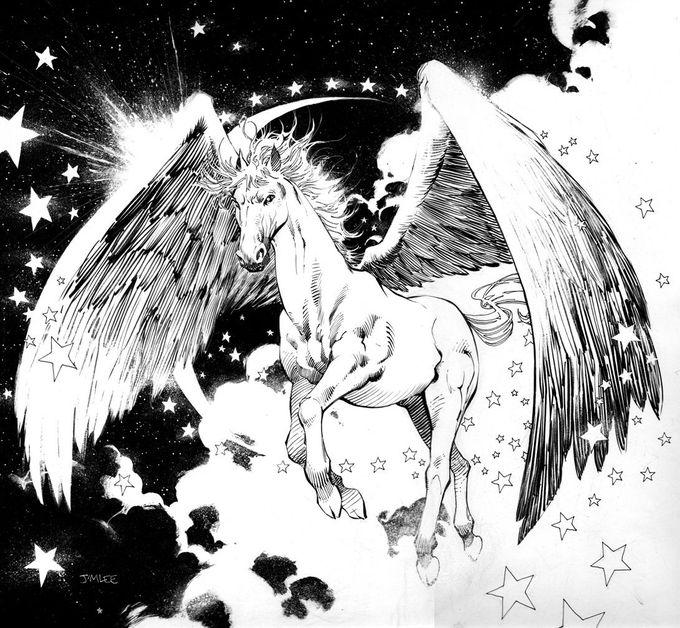 Pegasus by Jim Lee