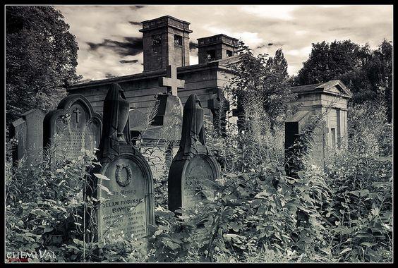 Jesmond公墓于1836年建成,门房和小屋由当地建筑师John Dobson设计。他最终被埋葬在这里。