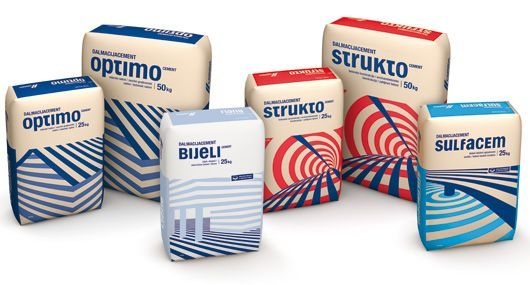 CEMEX Bijeli and Sulfacem cement packaging PD