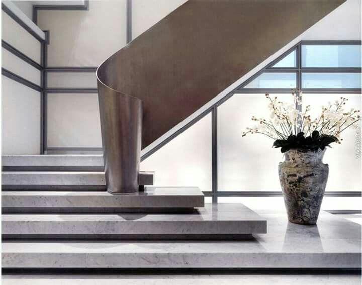 Elegant stair balustrade