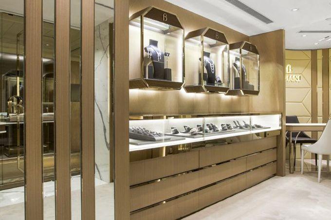 香港半岛酒店Stefano Tordiglione Design Ltd.的Butani珠宝精品店»零售设计博客