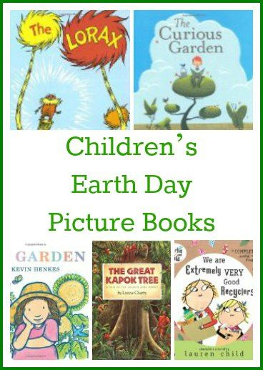 用最好的地球日图画书为幼儿,学龄前儿童和小学生庆祝地球日。
