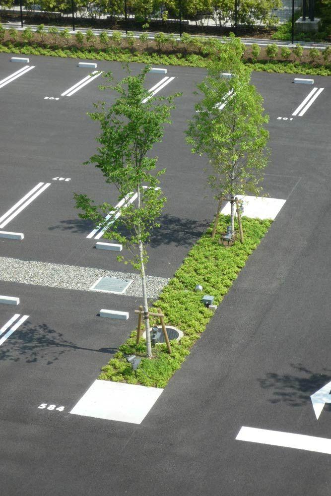 Daiichi Mutual Insurance Shin-Ohi Office Landscape by Takenaka Corporation + WRT «  Landscape Architecture Works | Landezine