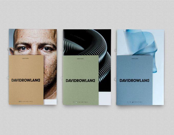 David Rowland by ico Design, United Kingdom