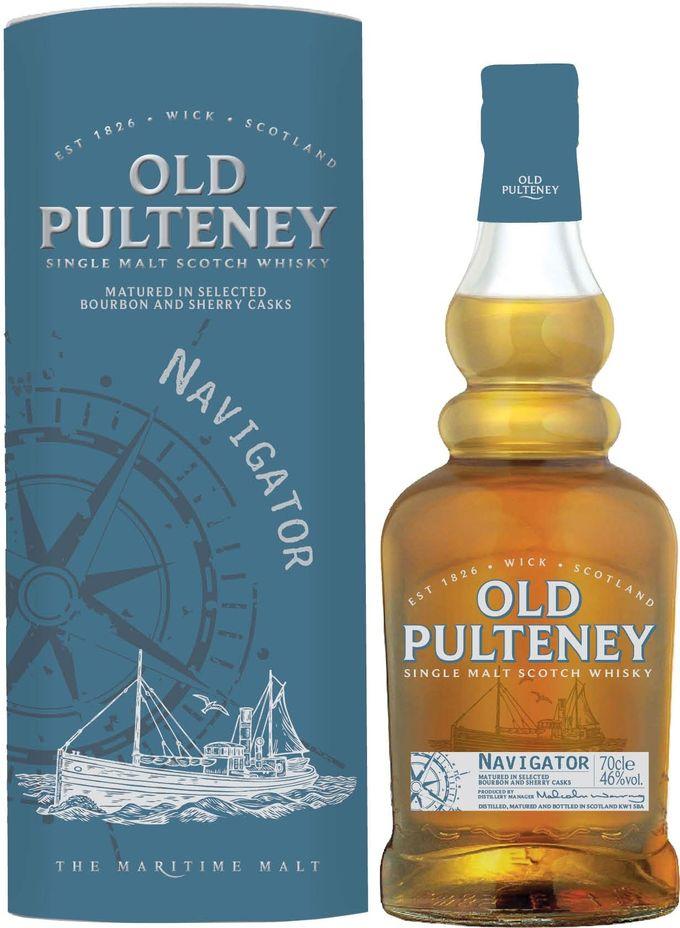 Old Pulteney Navigator Limited Edition Single Malt Scotch Whisky PD