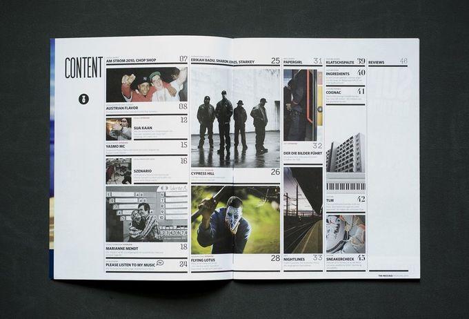great table of contents design - typischbeton.com