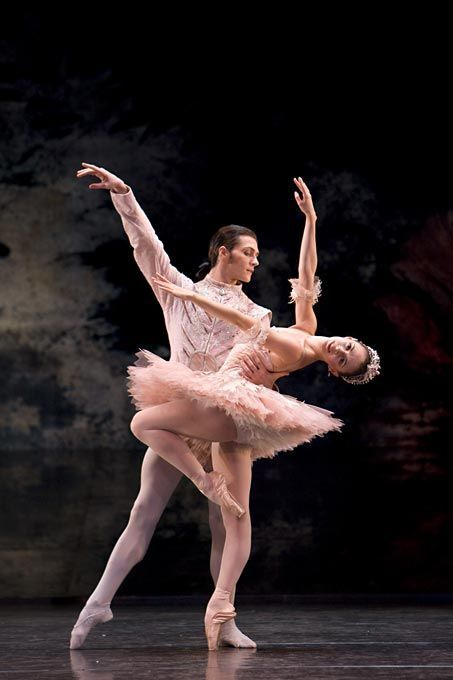 Natasha Oughtred and Jamie Bond in Birmingham Royal Ballet's production of The Nutcracker.