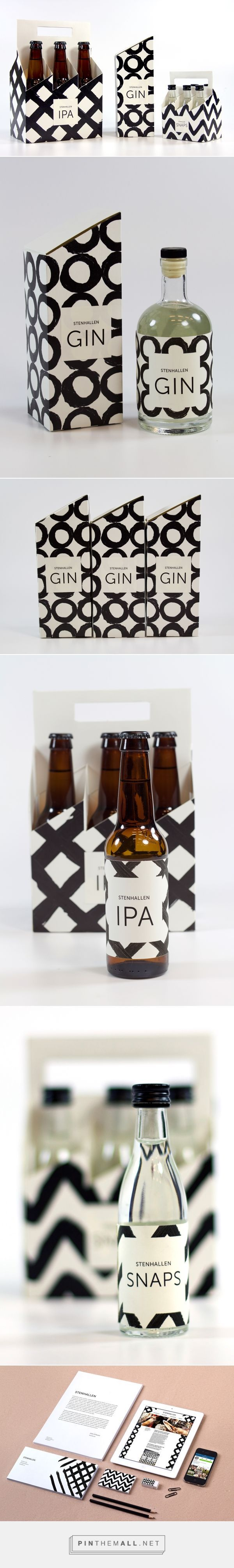 STENHALLEN Branding & Packaging on Behance by Jenny Vesterlund curated by Packaging Diva PD. Examination project in Graphic Design & Communication. The task was to make a cultural project in Sundsvall (a town in North of Sweden)