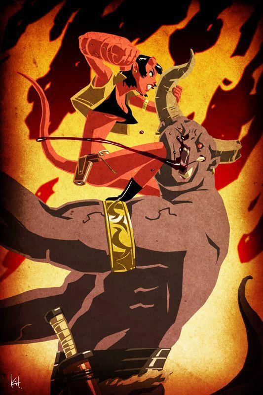 Go to hell! by kit-kit-kit on deviantART