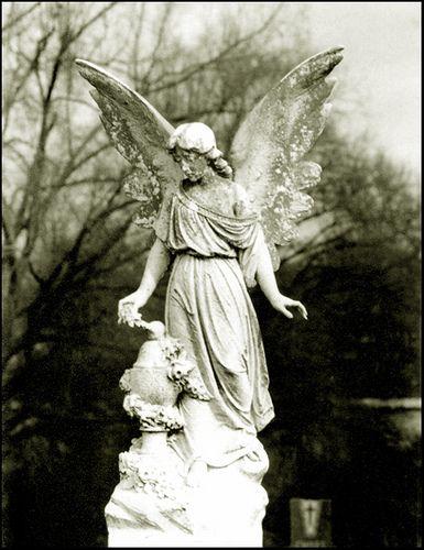 "ALL RIGHTS RESERVED www.elmwoodcemetery.org尼康FG公墓艺术在历史悠久的Elmwood公墓 - 田纳西州孟菲斯。埃姆伍德是孟菲斯最古老的公墓,并拥有一些杰出的雕像。于19世纪开业。这也是""不寻常""的人像背景的好地方"