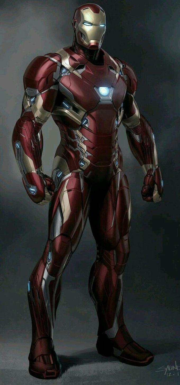 钢铁侠的概念艺术。
