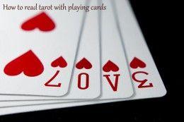 一种简单而优雅的将塔罗牌意义应用于普通扑克牌的方法。